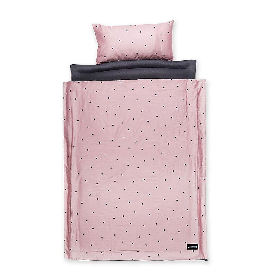 Reversible Air Mesh Retro Animal Nap Mat In Pink Portable Bed
