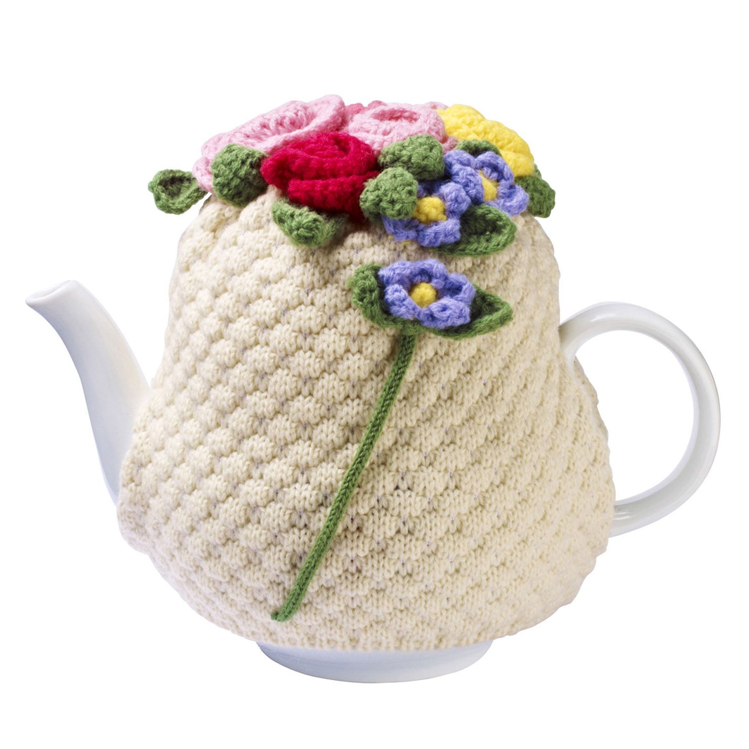 Ulster Weavers Horrockses Martha Knitted Tea Cosy | Teteras, Hora ...