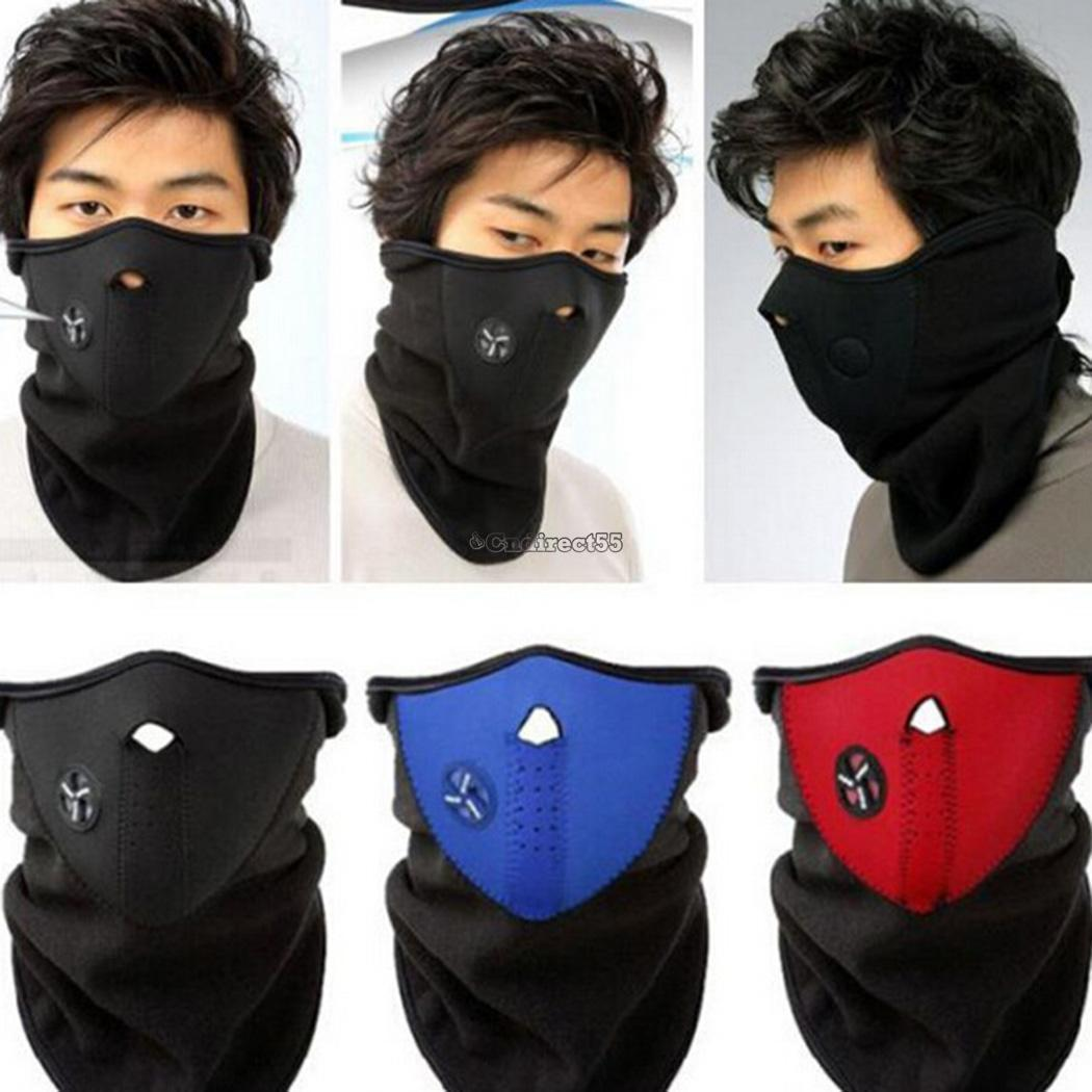 0 99 Gbp Half Face Mouth Mask Motorcycle Motorbike Bike Cycling Ski Neck Warmer Cover C6 Ebay Fashion Snowboard Media Mascarilla Motos