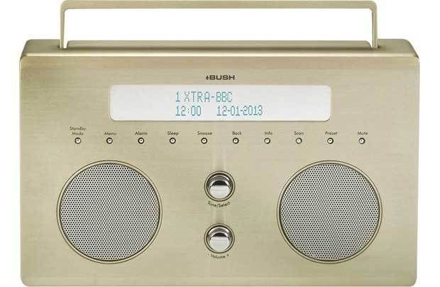 Bush Portable Dab Digital Fm Am Tuner Stereo Radio Alarm Clock Battery Operated Digitales Radio Radios Unterwegs