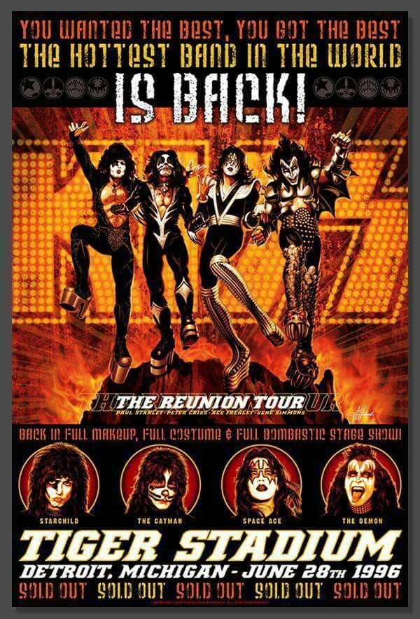 First Show Of The Reunion Tour, 1996  Kiss Concert -8466