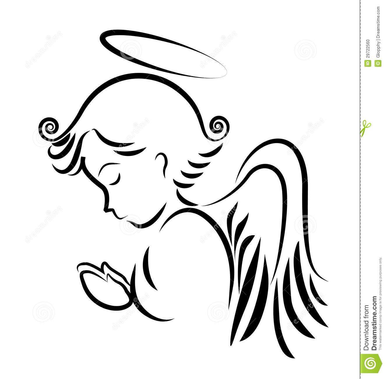 Silueta De Angel