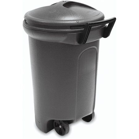 Hyper Tough 32 Gallon Wheeled Trash Can With Turn Lock Lid