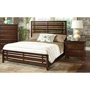 Standard Furniture Drake Espresso Panel Bedroom Set