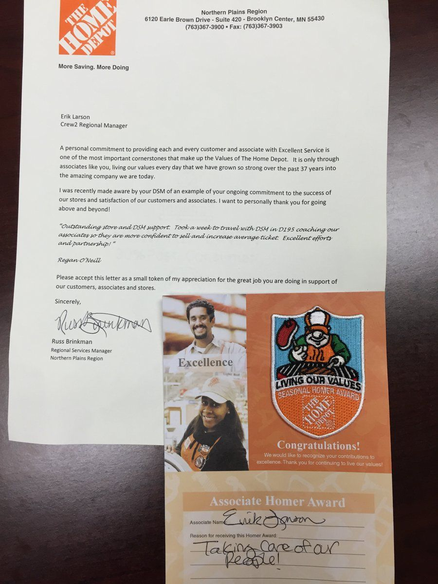 Proud Moment - Erik Larson Received A Homer Award From ...