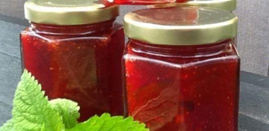 confiture de fraise menthe thermomix