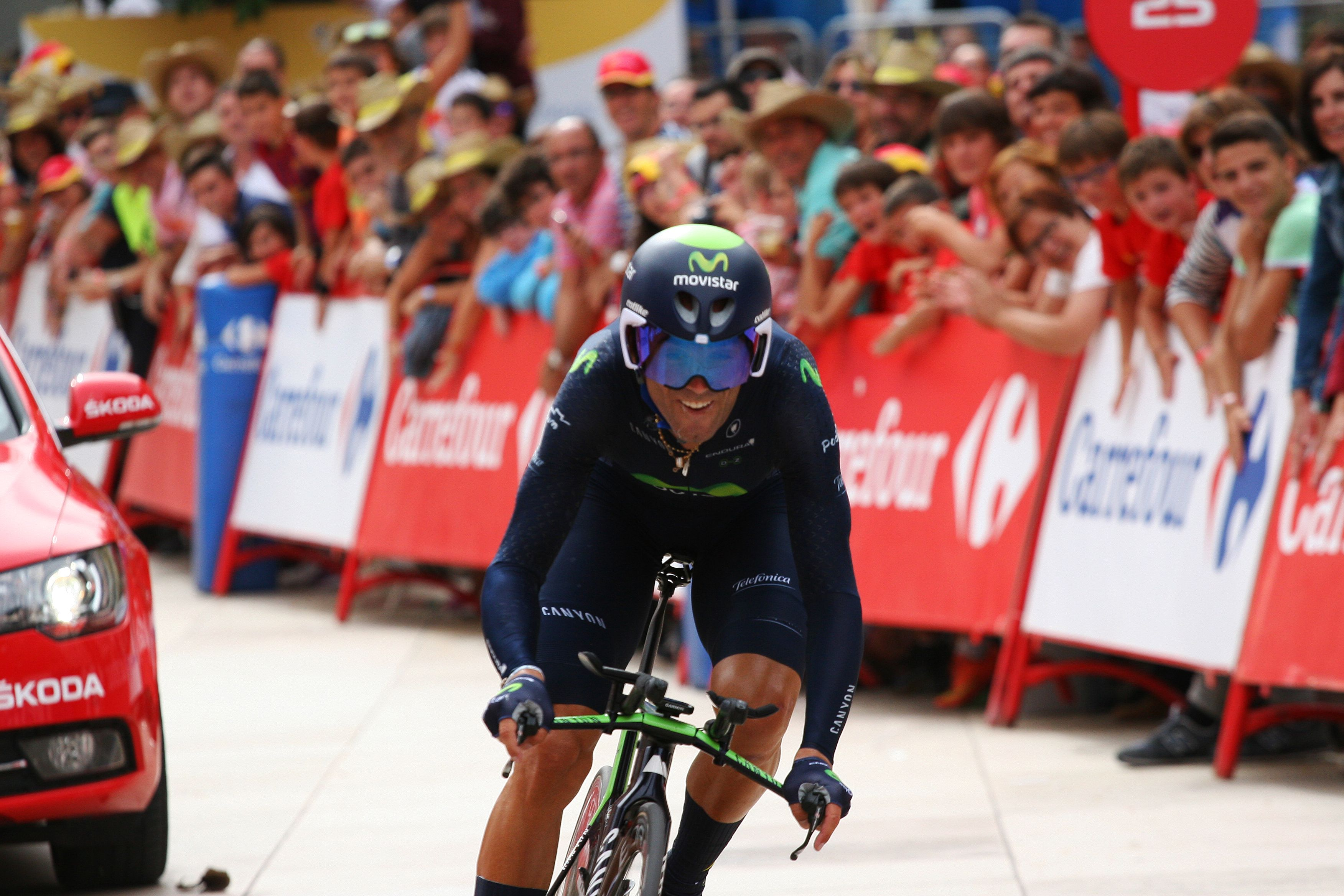 Lavuelta 2015 Burgos Tt At Stage 17 Alejandrovalverde Tries To Win The Jersey Cyclingcountry Road Bike Tours Www Cyclingcountry Com Cyclingspain Espana