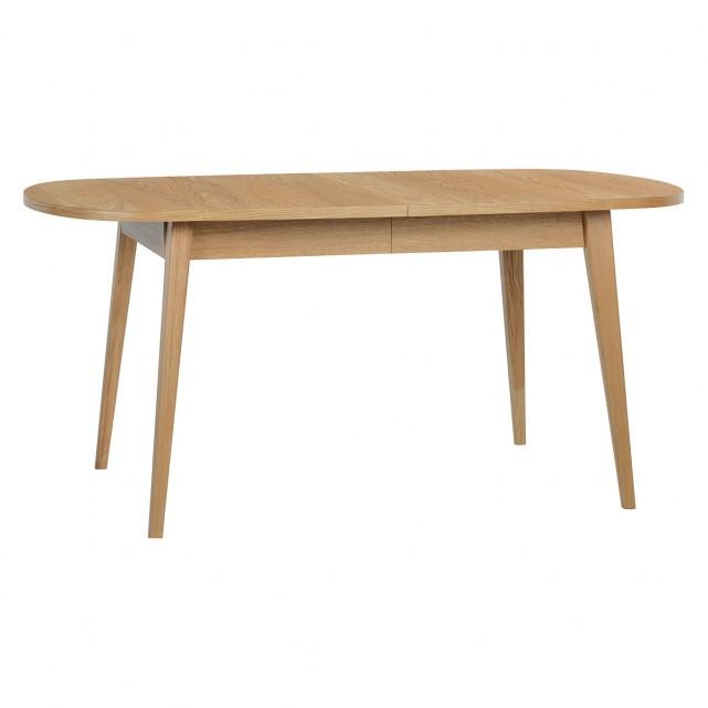 Etta 6 8 Seater Oak Extending Dining Table Extendable Dining