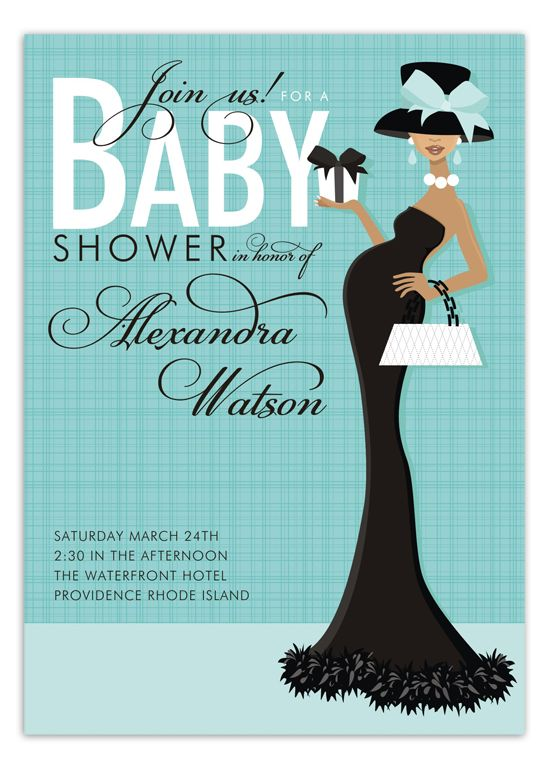 African american beautiful in blue baby shower invitation baby elegant baby shower invitations boy try choosing baby shower games which are timed filmwisefo Image collections