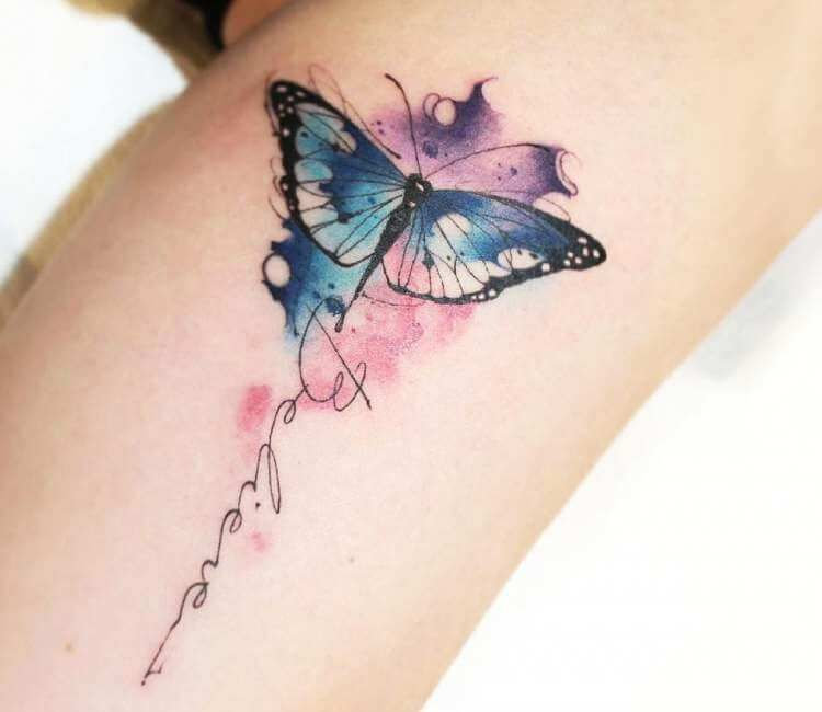 Buterfly tattoo by Eliel Mendes | Post 25652