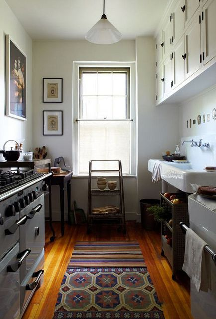 I love the rug, and the simple colors black, white, and brown the