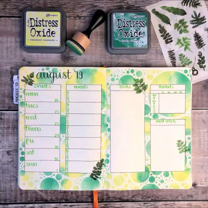 Bullet Journal Weekly Setup