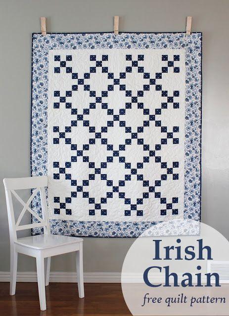 Camp Style | Primitive bedroom, Irish chain quilt and Primitives : irish chain quilt pattern free - Adamdwight.com
