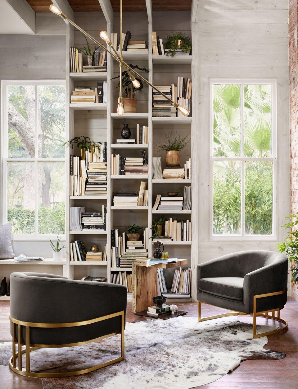 Corbin Chair Bella Smoke In 2019 Furniture Four Hands Furniture