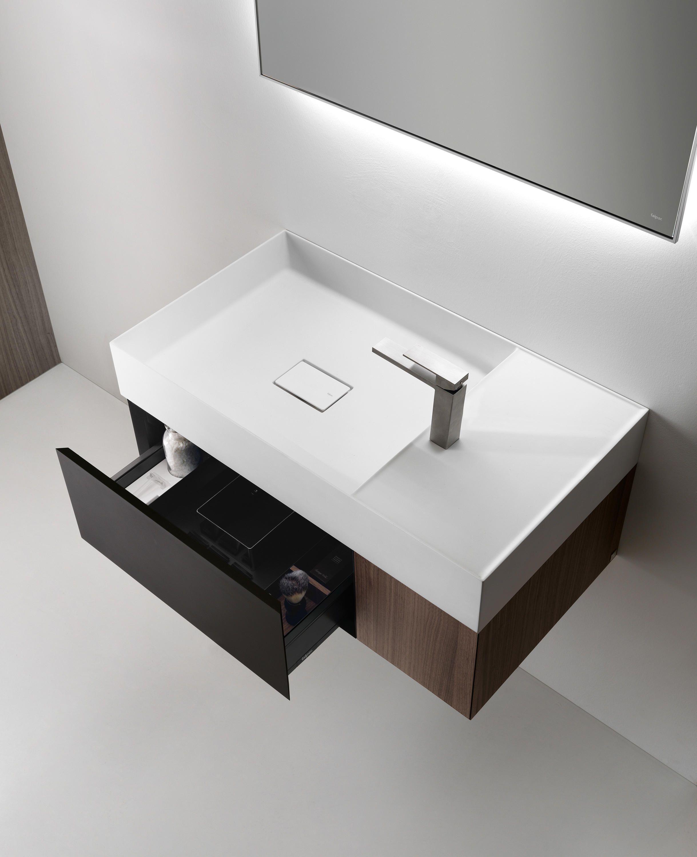 Quattro zero mobili lavabo di falper mobili lavabo progetta il tuo bagno con falper for Progetta il tuo bagno