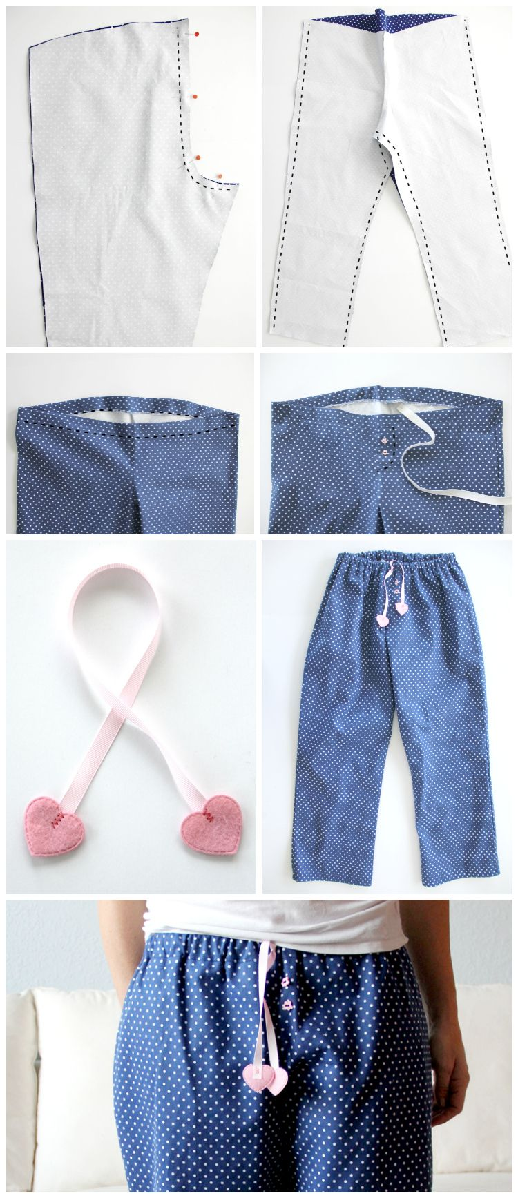 how to easily sew your own pajama pants 28ed6ae53