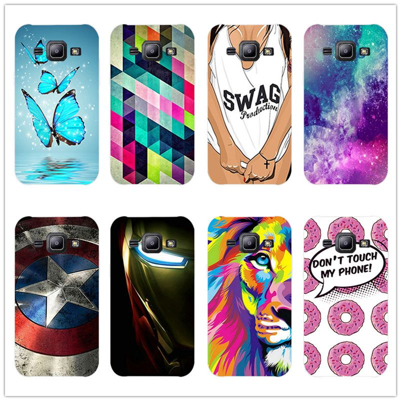 Grid Cartoon Painted Hard Plastic Cute Phone Cases For Samsung Galaxy J2 Prime 5 Case Cover For Fundas Samsung J2 Prime Gift Cute Phone Cases Phone Case Cover