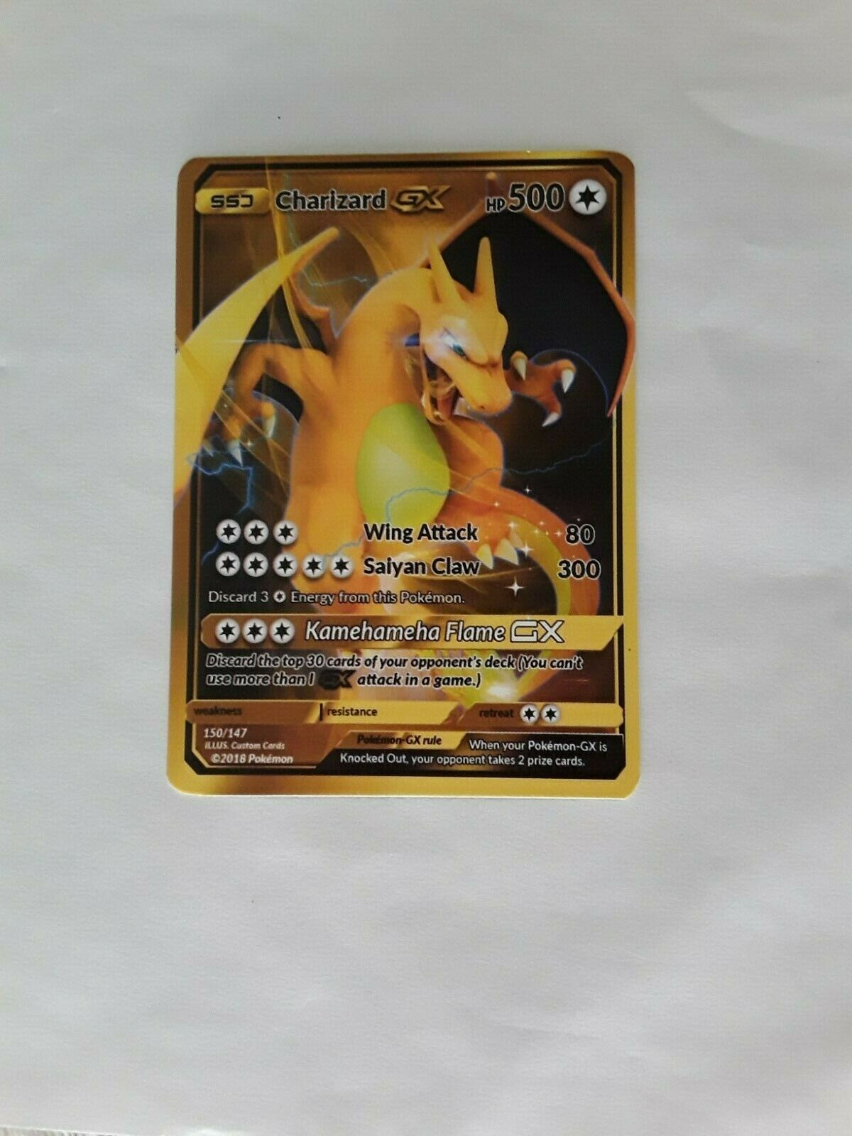 Pokemon Card Gold Charizard Gx Pokemon Cards Ideas Of Pokemon Cards Pokemoncard Pokemon Pokemon Card Gol In 2020 Pokemon Cards Pokemon Pokemon Cards For Sale