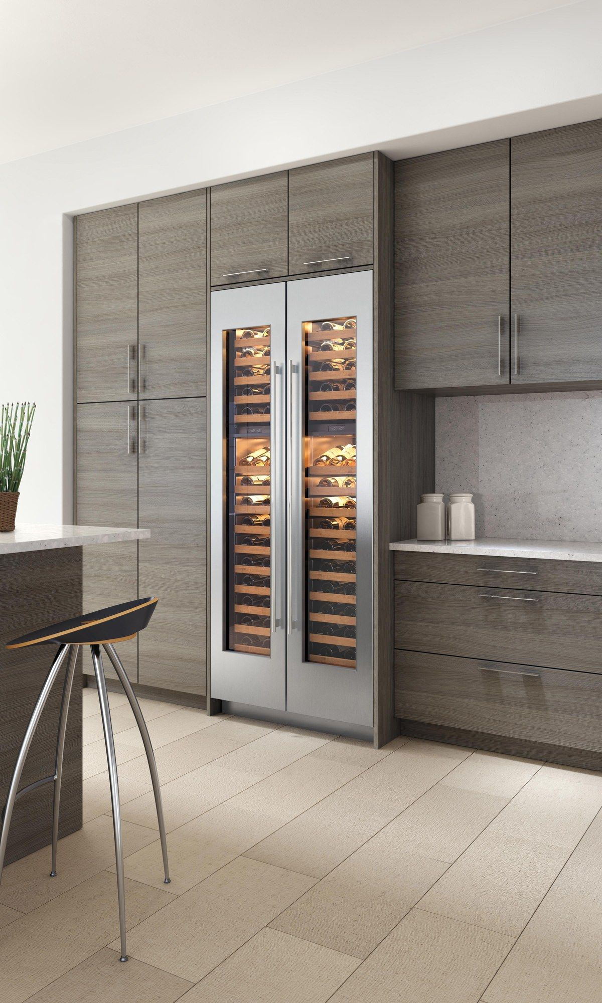 Preserve your wine with the IW 18 Wine Storage from Sub Zero which