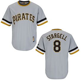 Get this Pittsburgh Pirates Willie Stargell Cooperstown Cool Base Replica Jersey at ThePittsburghFan.com