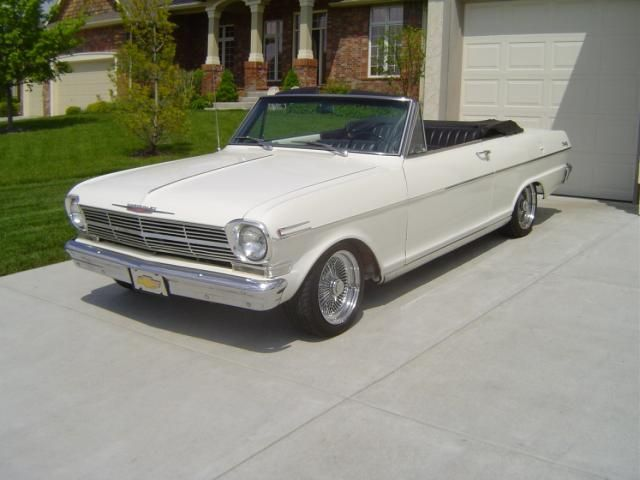 1962 Nova Convertible To Go With The Trailer Of Course Chevy Nova Classic Cars Trucks Chevy