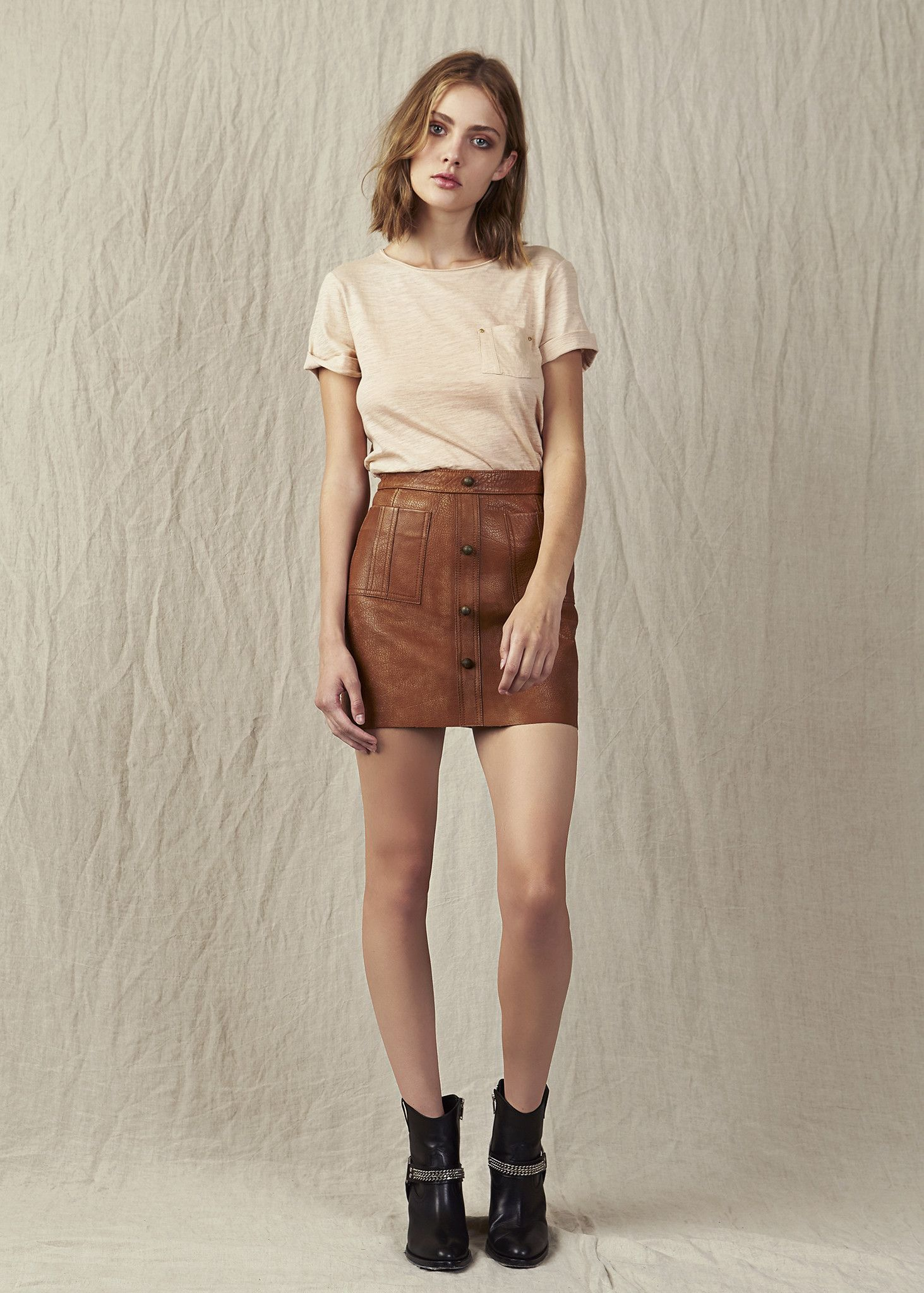 486ab2e83 Shrimpton Mini in 2019 | Clothes | Mini skirts, Skirts, Tan suede skirt
