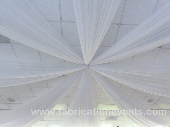 Ceiling Piping and draping