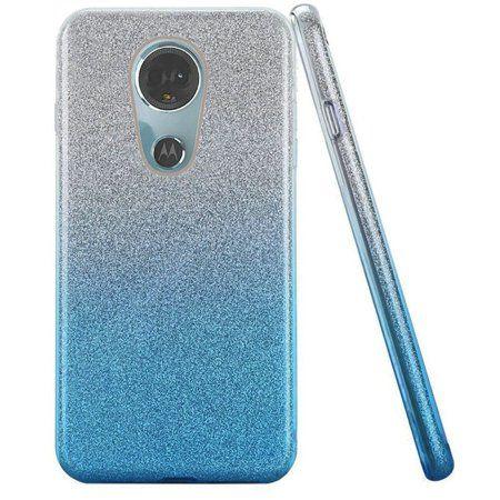 e24052750d28 Moto E5 Plus case Moto E5 Suprae case by Insten Two Tone Glitter Hard Snap-