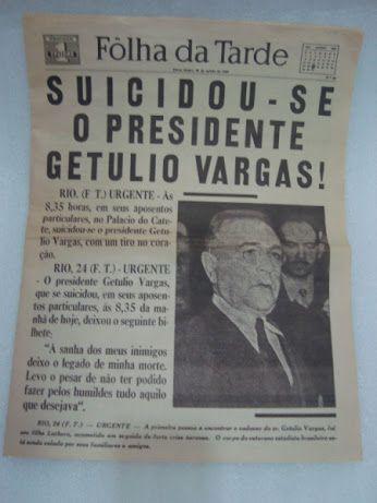 Getulio Vargas Suicidio