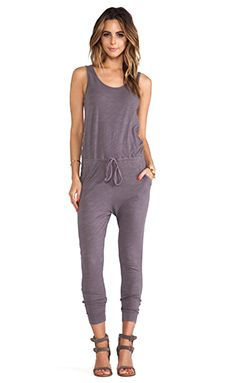 SUNDRY Jumpsuit in Sunset Grey