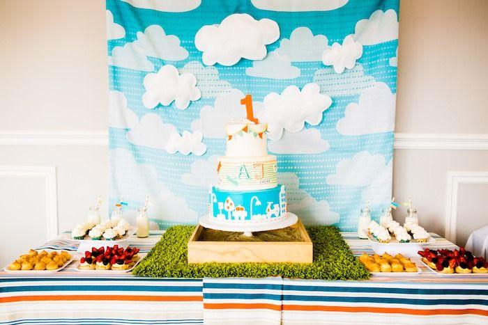 Modern Boys Will Be Boys 1st Birthday Party with Such Cute Ideas via