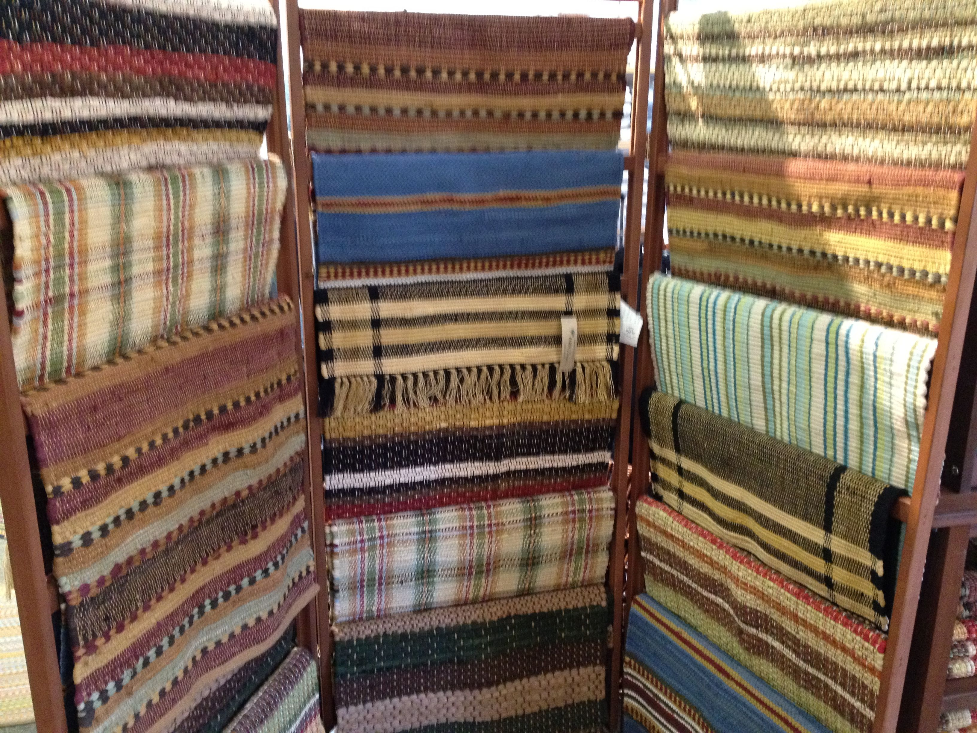 an array of rug patterns...