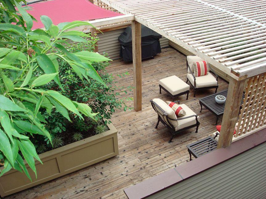 Hochwertig Roof Deck | Planters | Urban | Garden | Landscape | Design | Pergola | Shade