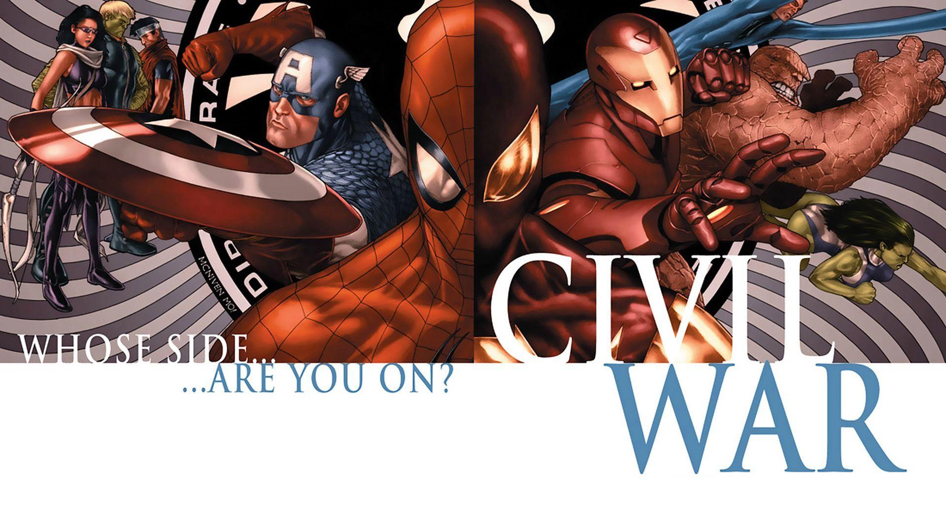 Marvel Civil War HD Wallpaper 2048x1280 Wallpapers 44