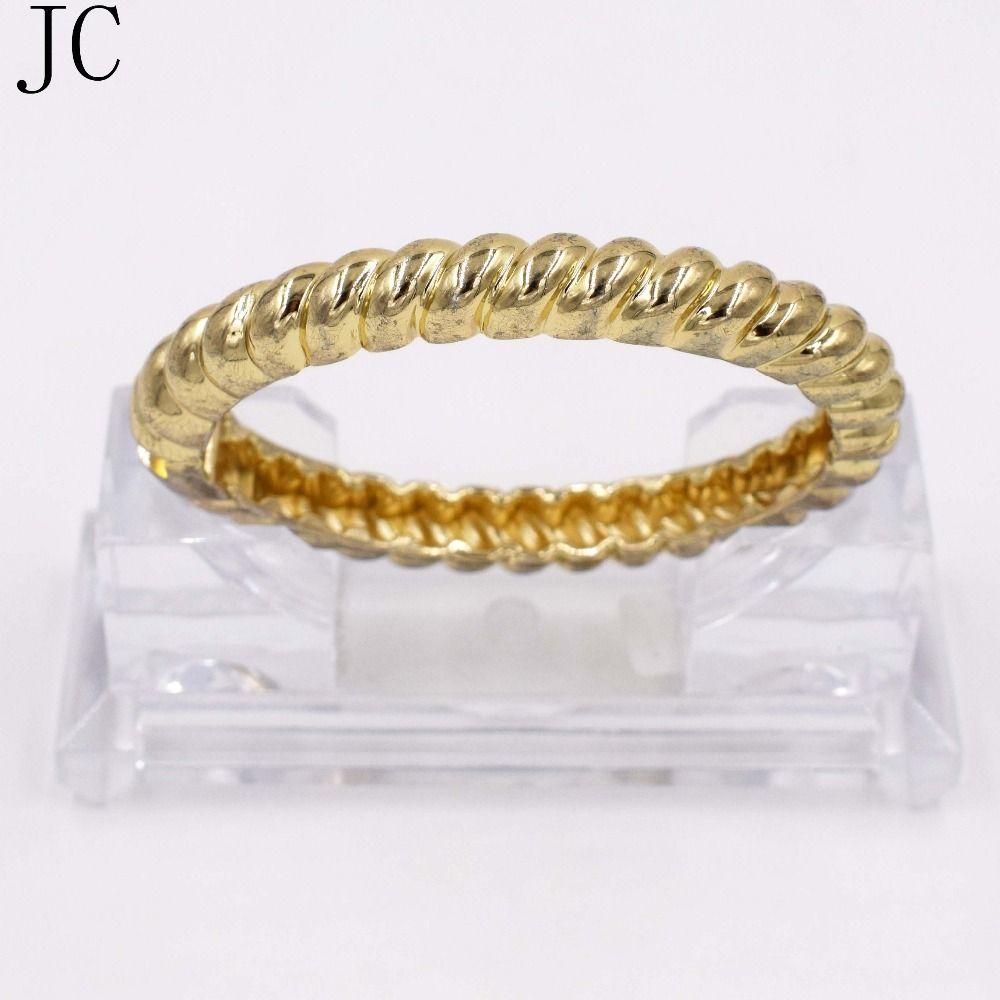 Hot sale dubai gold vintage bracelets geometric style pop punk