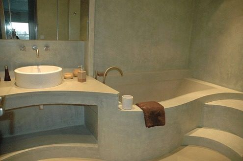 muebles microcemento alisado buscar con google decoracion concrete bathroom bathroom y. Black Bedroom Furniture Sets. Home Design Ideas