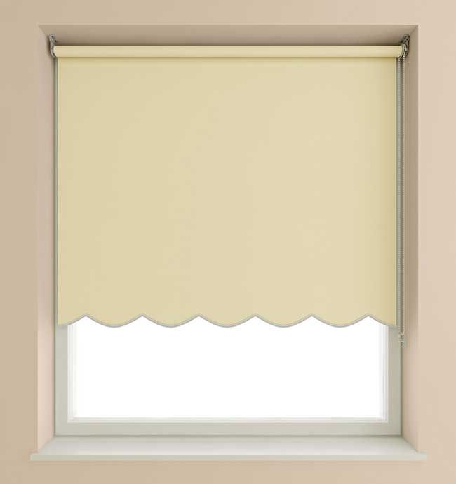 scalloped window shades victorian speedy 60cm scalloped roller blind cream roman blinds design shades blinds shades in 2018