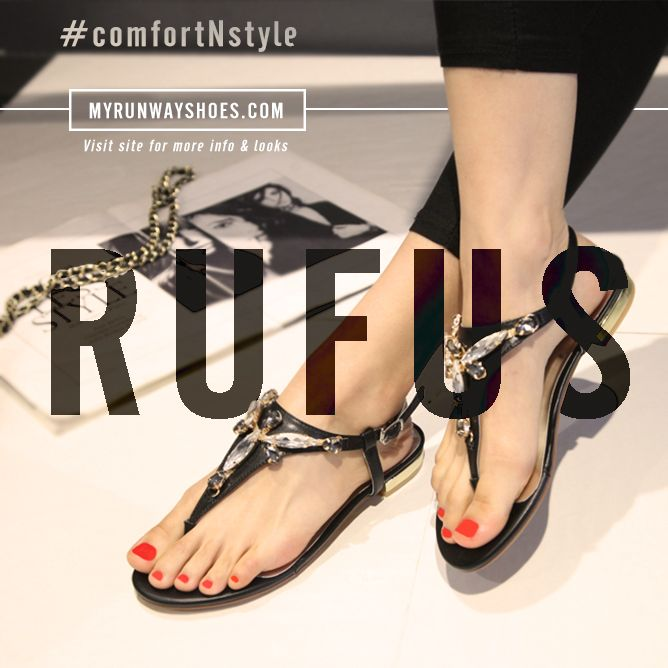 Feel light in this pair, dazzling brilliance no matter what you wear.  Here to complete your look with the right amount of chic is Rufus!