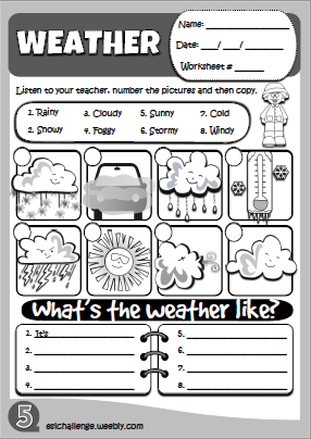 pin by courtney bergeaux on school stuff weather worksheets english for beginners english. Black Bedroom Furniture Sets. Home Design Ideas