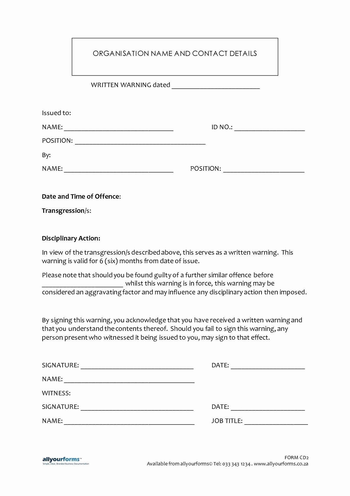 Sample Written Warning Letter Best Of Sample Written Warning Letter To Employee Simple Cover Letter Template Professional Cover Letter Template Templates