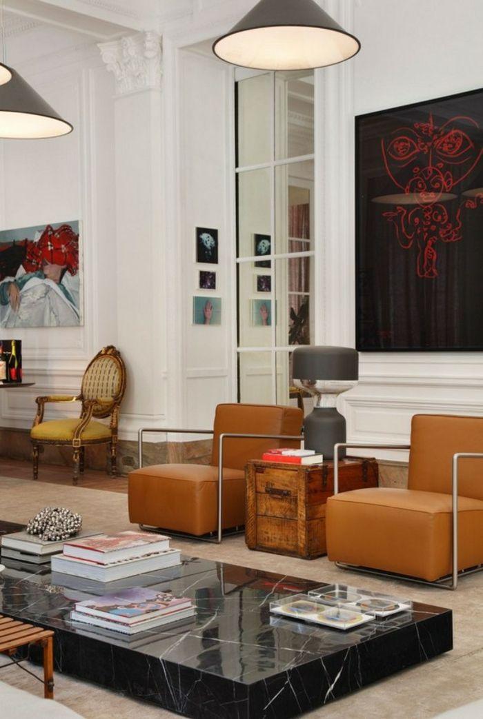 1001 Ideen für Bilder fürs Wohnzimmer stylisch und