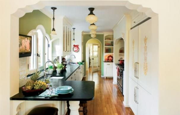 A Practical Kitchen Design With Period Appeal Spanish revival