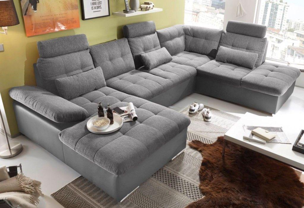Nett couch wohnlandschaft Deutsche Deko Pinterest Living room - Laminat Grau Wohnzimmer
