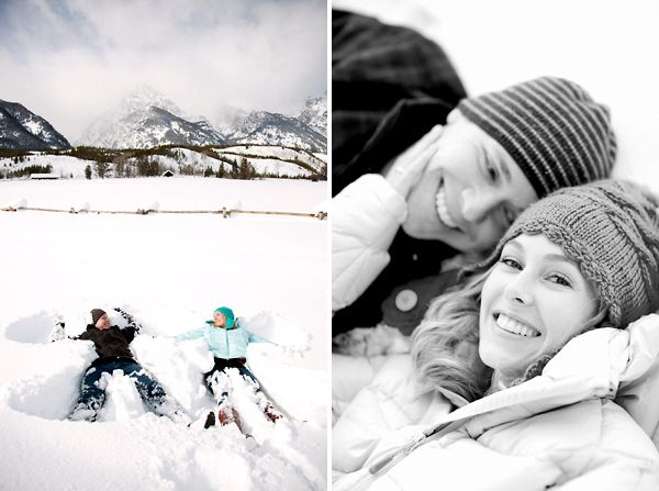 Winter engagement photos... would have been amazing if winter actually came...