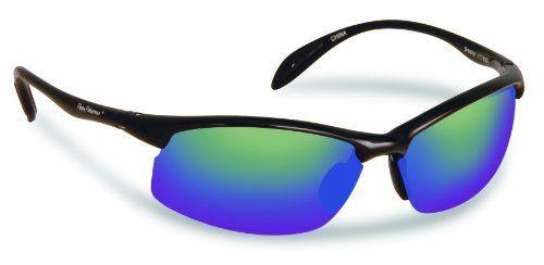 Flying Fisherman Breaker Polarized Sunglasses (Shiny Black Frame ... 07da6b89db