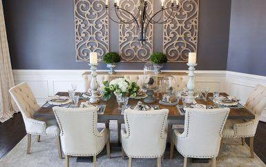 Elegant French Dining Room Dining Room Wall Decor Elegant