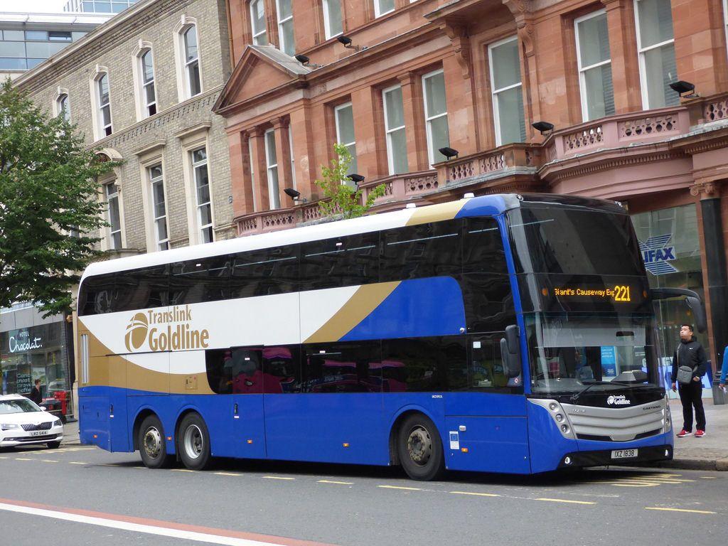 Ulsterbus Bus coach, Commercial vehicle, Public transport