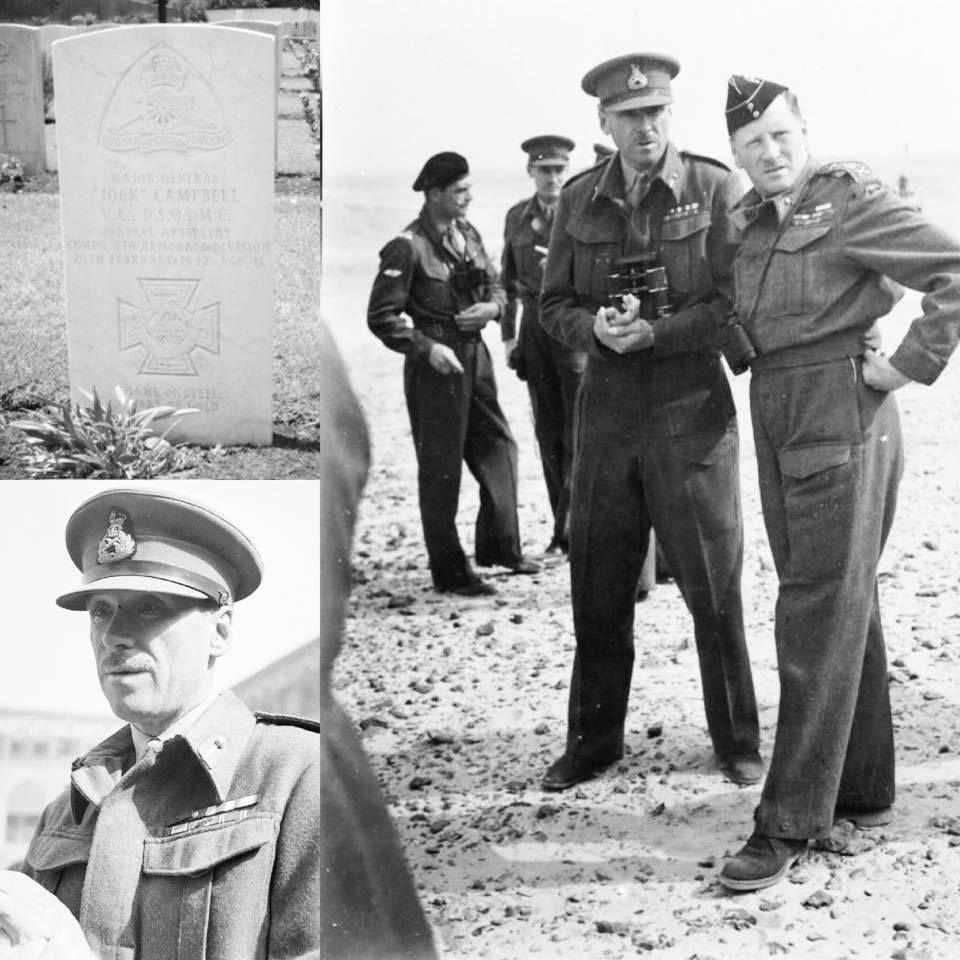 Major General John Charles Jock Campbell V C D S O M C General