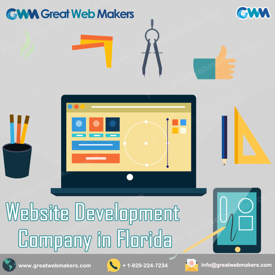 Great Web Makers Is A Website Development Company In Florida Which Offers Website De Website Development Company Personal Website Design Website Development