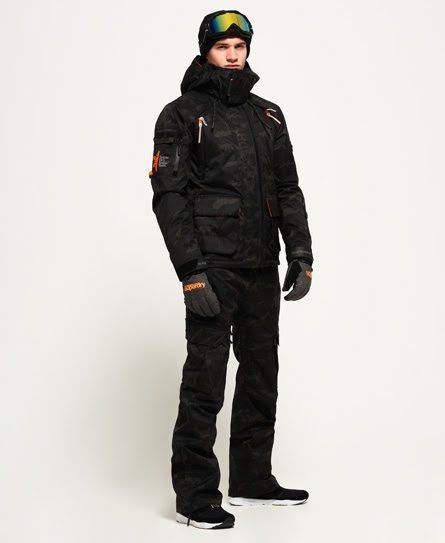 Superdry Ultimate Snow Rescue Jacket Black Jackets Skiing Outfit Mens Jackets
